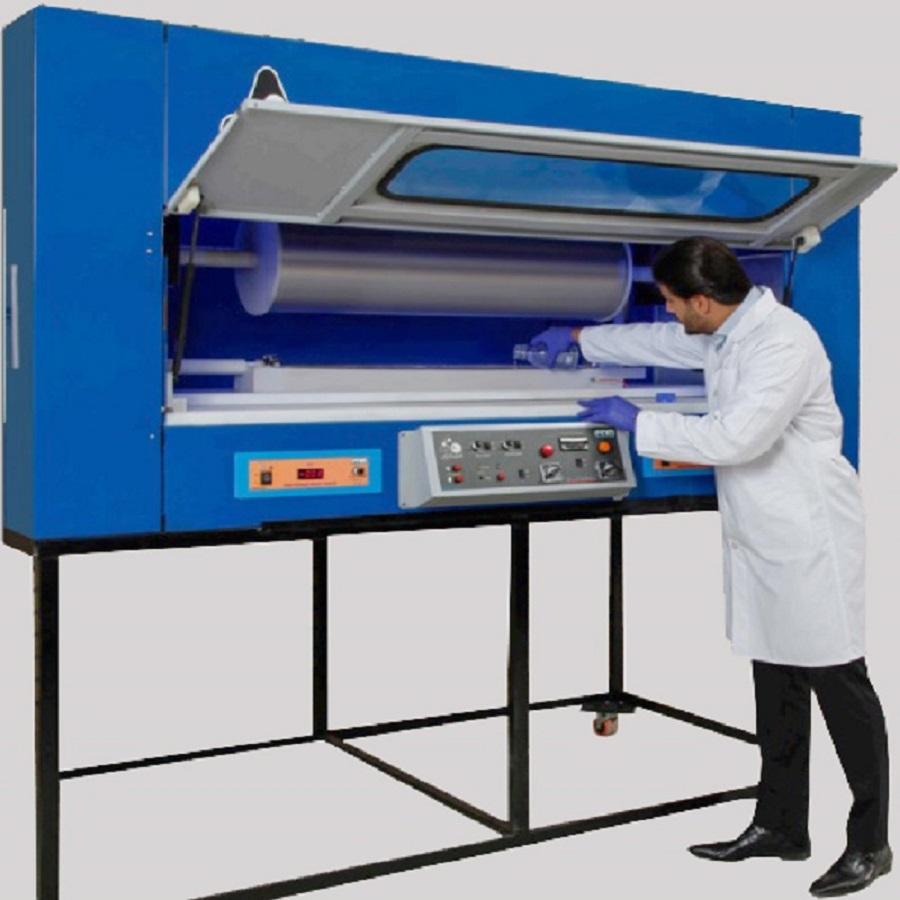 خدمات تولید نانو الیاف با استفاده از دستگاه نیمه صنعتی الکتروریسی |